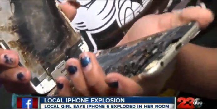 Sebuah iPhone 6 Dikabarkan Terbakar Di Tangan Bocah 11 Tahun